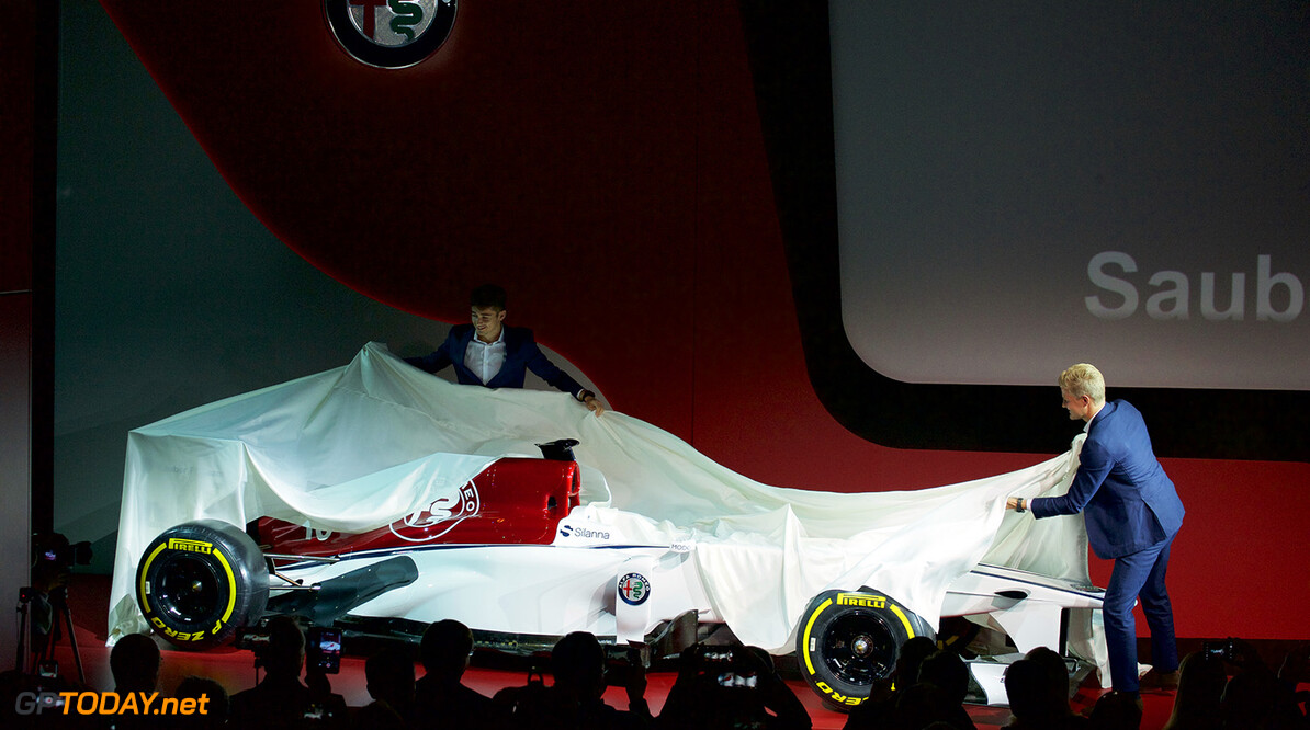 <strong>Foto's:</strong> Presentatie van Alfa Romeo Sauber concept livery