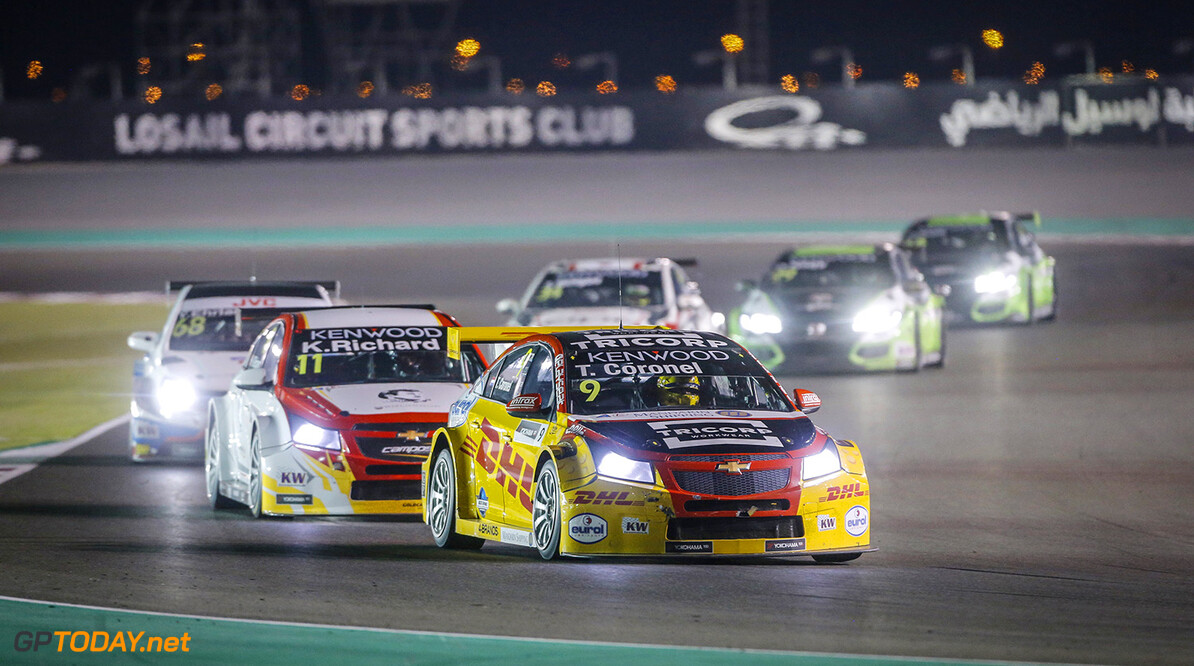 09 CORONEL Tom, (ned,) Chevrolet RML Cruze team ROAL Motorsport, action during the 2017 FIA WTCC World Touring Car Championship race at Losail  from November 29 to december 01, Qatar - Photo Francois Flamand / DPPI AUTO - WTCC LOSAIL 2017 Francois Flamand Losail Qatar  Auto Championnat Du Monde Losail International Circuit Circuit Course Fia Motorsport November Novembre Quatar Tourisme Wtcc