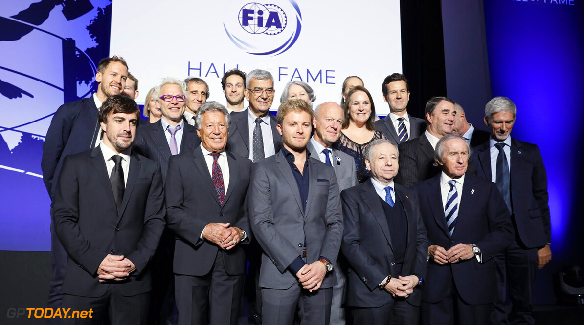 FIA celebrate the launch of the Hall of Fame