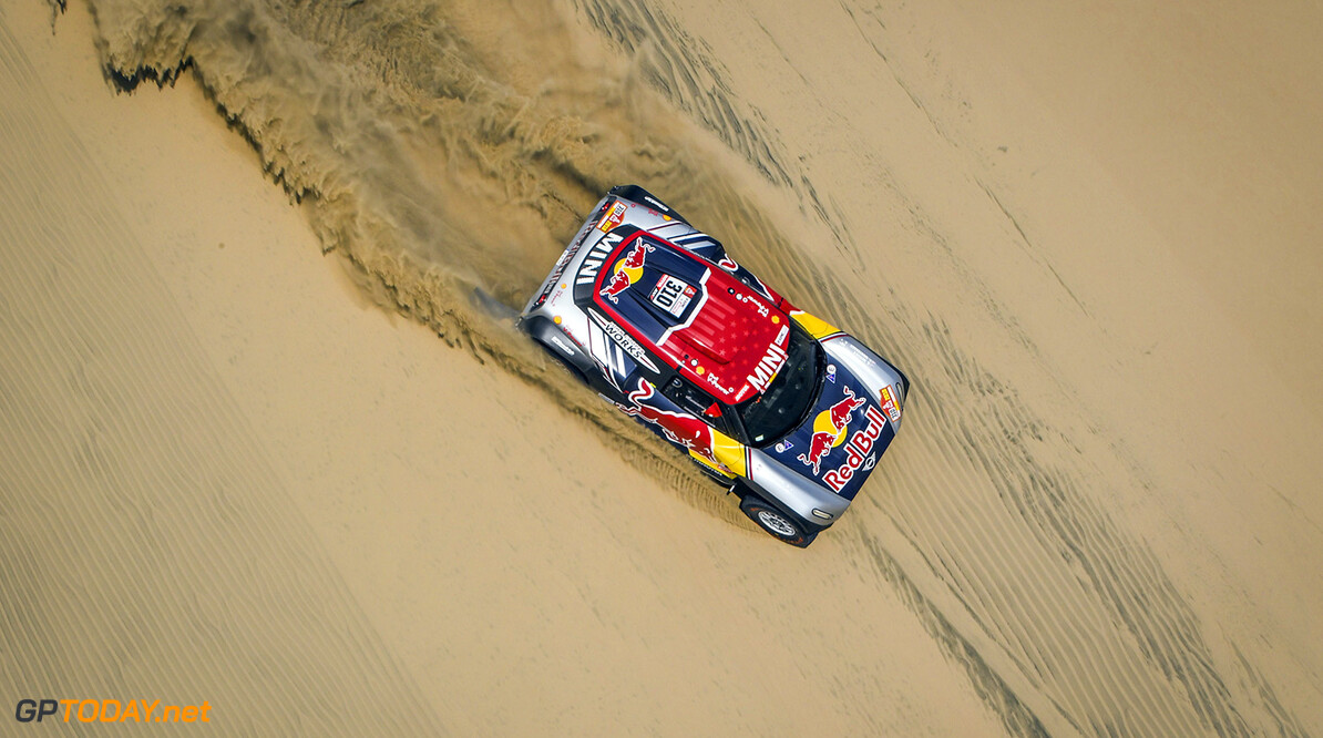 310 MENZIES BRYCE (USA) rookie, MORTENSEN PETER (USA) rookie, MINI, auto, car, action during the Dakar 2018, Stage 1 Lima to Pisco, Peru, on january 6 - Photo Eric Vargiolu / DPPI AUTO - DAKAR 2018 - PART 1 Eric Vargiolu Pisco Perou  COURSE JANUARY OFFROAD RALLY Off-road rally PEROU PERU Race amerique du sud dakar etape janvier rally rallye rallye raid rallyes raid rallyraid