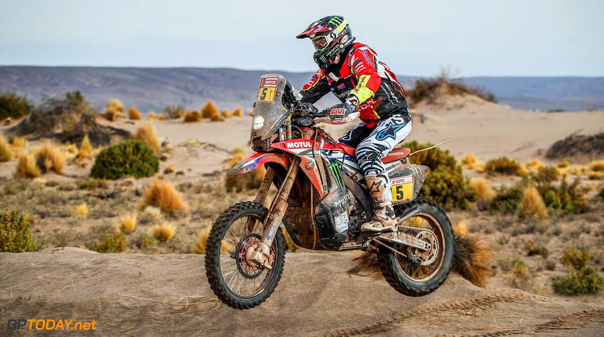 Brabec wint etappe 6 bij motoren en ziet concurrenten terugvallen met pech