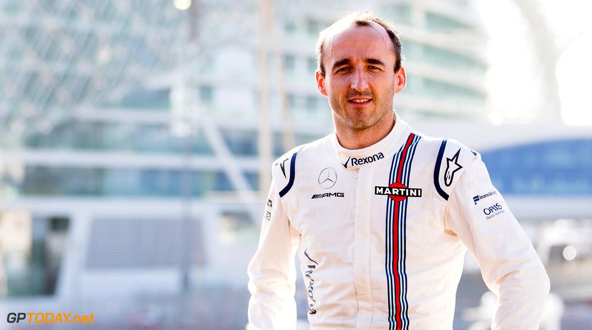 Williams F1 Drivers Official Portraits Tuesday 16 January 2018 Robert Kubica. Photo: Williams F1 ref: Digital Image Robert_Kubica (1)  Zak Mauger    f1 formula 1 formula one portrait