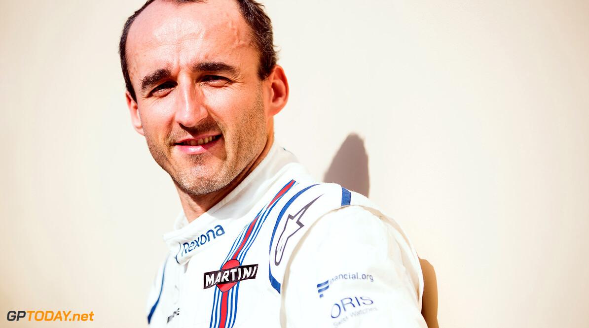 Williams F1 Drivers Official Portraits Tuesday 16 January 2018 Robert Kubica. Photo: Williams F1 ref: Digital Image Robert_Kubica (2)  Zak Mauger    f1 formula 1 formula one portrait