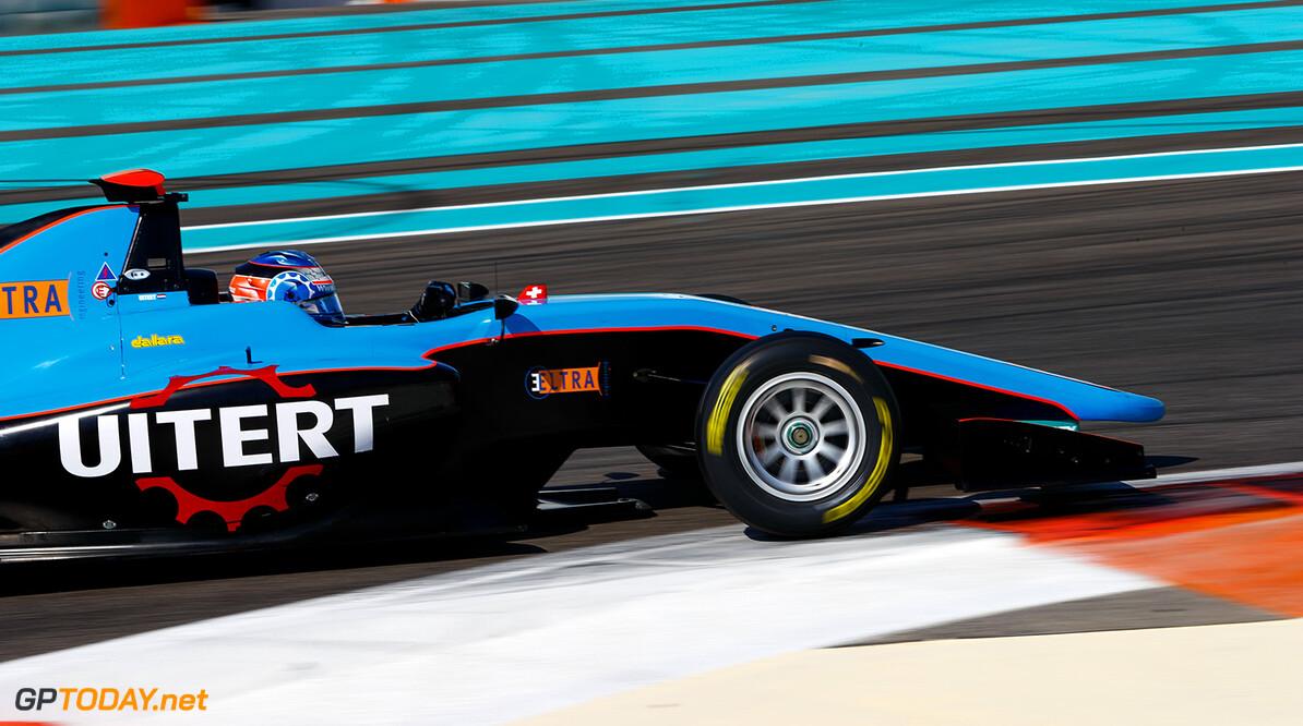 2017 GP3 Series Test 5. Yas Marina Circuit, Abu Dhabi, United Arab Emirates. Thursday 30 November 2017. Job van Uitert (NLD, Jenzer Motorsport). Photo: Joe Portlock/GP3 Series Media Service. ref: Digital Image _R3I7819   Joe Portlock    test testing