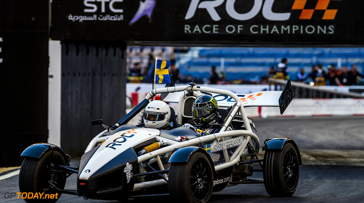 2018 Race of Champions, KIng Farhad Stadium, Riyadh, Saudi Arabi Johan Kristoffersson (SWE) driving the Ariel Atom Cup during the Race of Champions on Saturday 3 February 2018 at King Fahad Stadium, Riyadh, Saudi Arabia.