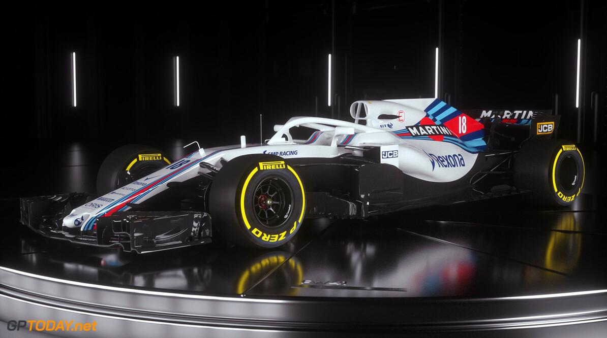 Williams presenteert nieuwe auto voor komend seizoen