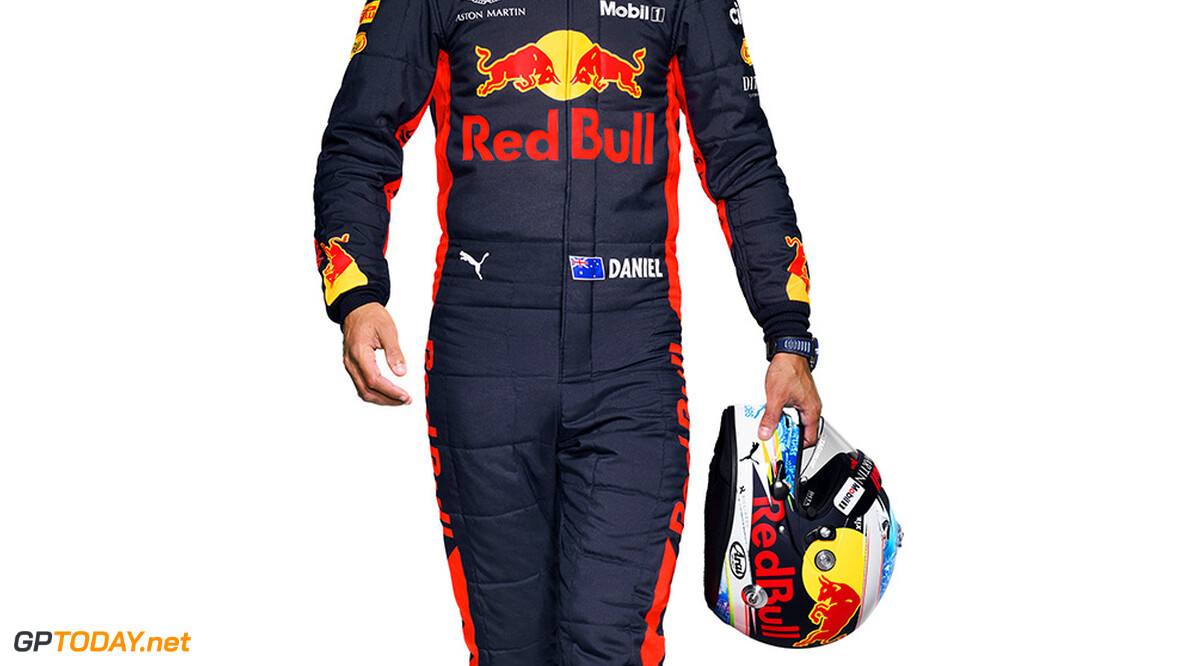 Daniel Ricciardo of Red BulL Racing seen during the 2018 studio shoot. // David Clerihew/Red Bull Content Pool // AP-1UTVQZNDD1W11 // Usage for editorial use only // Please go to www.redbullcontentpool.com for further information. //  Daniel Ricciardo      AP-1UTVQZNDD1W11