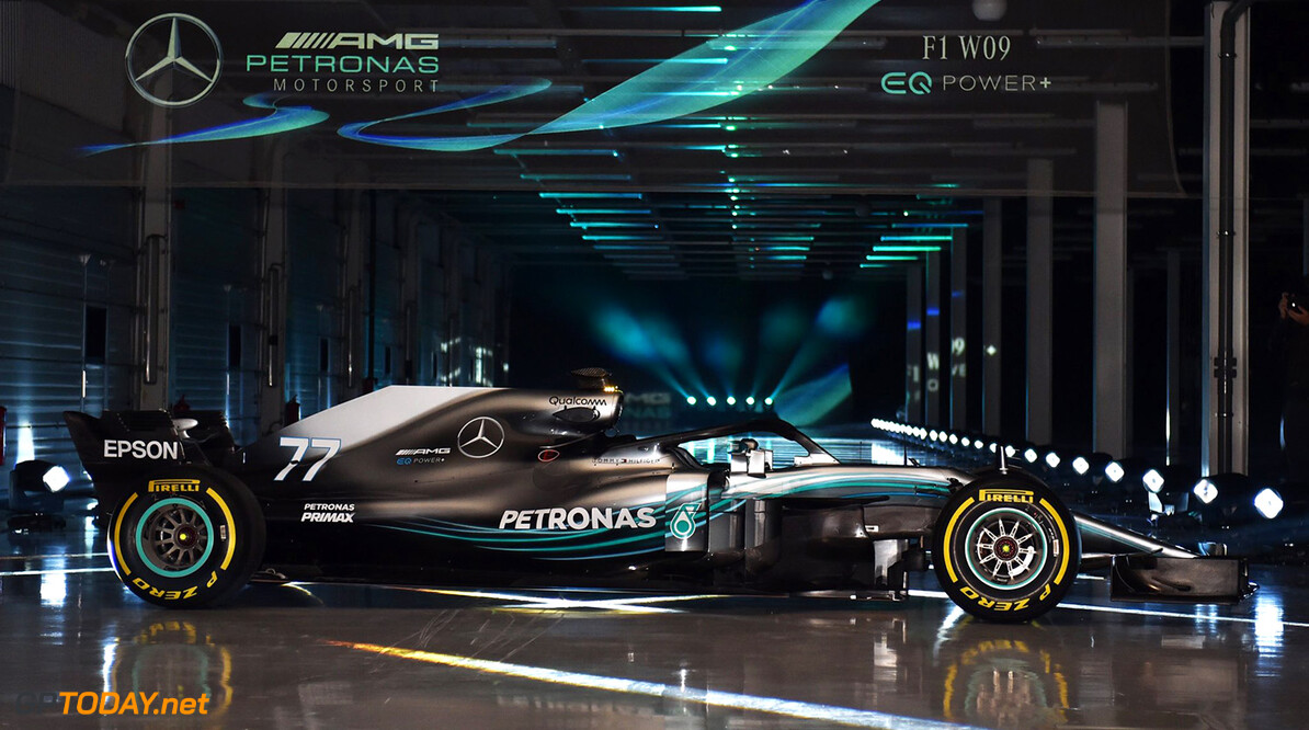 Mercedes W09 officieel gepresenteerd in Silverstone