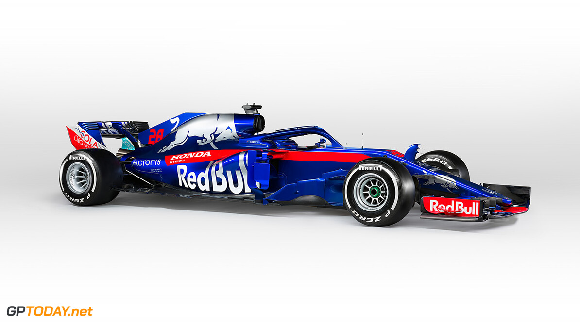 Brendon Hartley's Scuderia Toro Rosso STR13 (#28) seen during the 2018 studio shoot. // Guido De Bortoli / Red Bull Content Pool // AP-1UVMSQ6391W11 // Usage for editorial use only // Please go to www.redbullcontentpool.com for further information. //  STR13 (#28) Guido De Bortoli Faenza Italy  AP-1UVMSQ6391W11