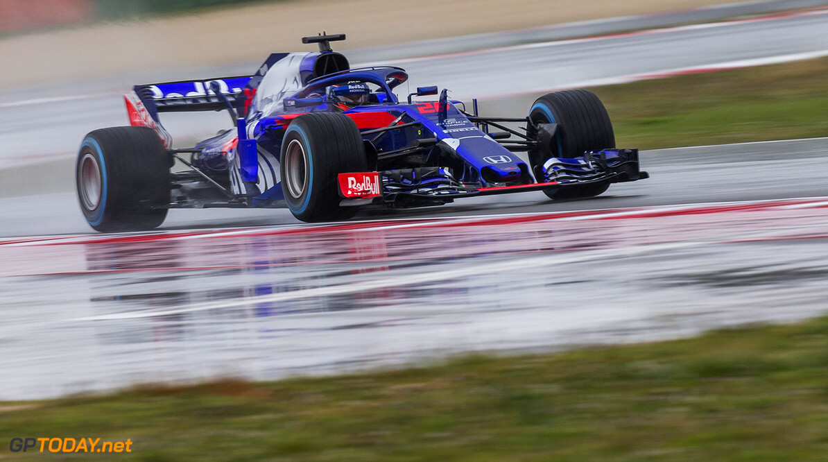 Brandon Hartley of New Zealand and Scuderia Toro Rosso performs during the filming day in Misano, Italy on February 21, 2017 // Samo Vidic/Red Bull Content Pool // AP-1UVM757W91W11 // Usage for editorial use only // Please go to www.redbullcontentpool.com for further information. //  Brandon Hartley  Misano Adriatico Italy  AP-1UVM757W91W11
