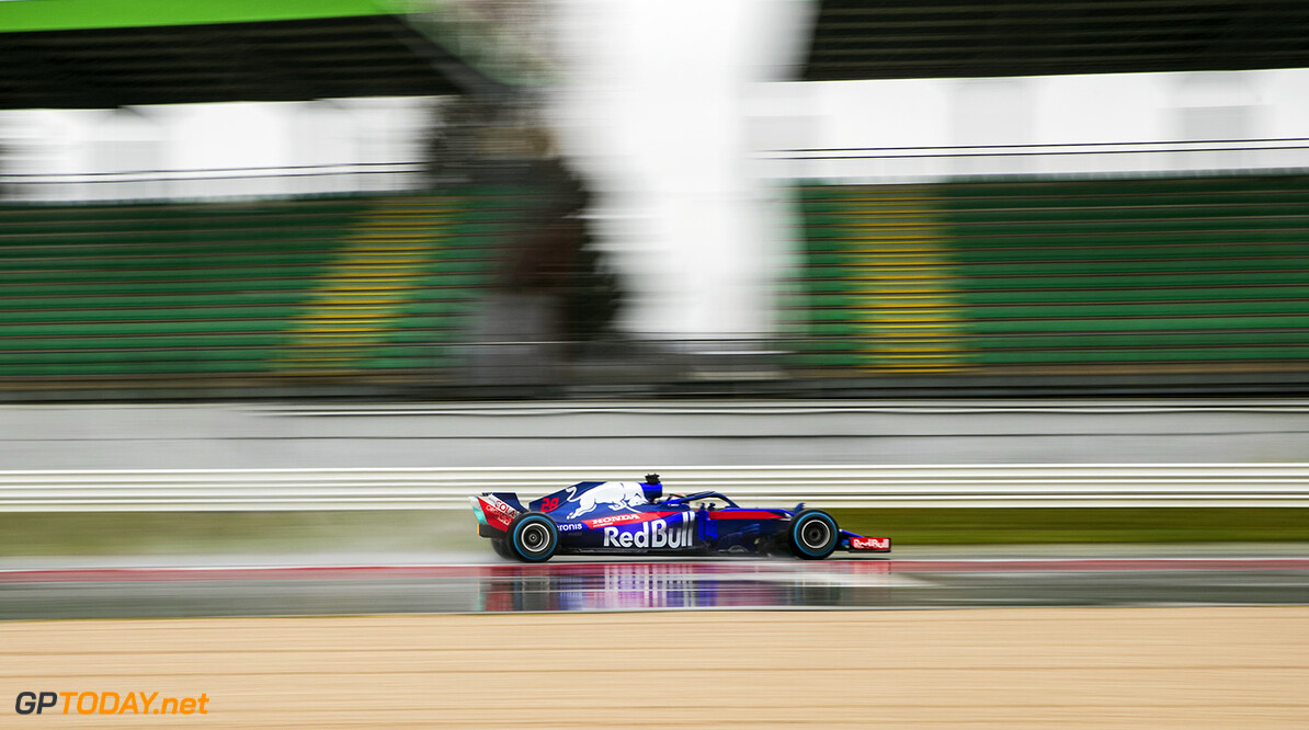 Brandon Hartley of New Zealand and Scuderia Toro Rosso performs during the filming day in Misano, Italy on February 21, 2017 // Samo Vidic/Red Bull Content Pool // AP-1UVM7ACKN1W11 // Usage for editorial use only // Please go to www.redbullcontentpool.com for further information. //  Brandon Hartley  Misano Adriatico Italy  AP-1UVM7ACKN1W11