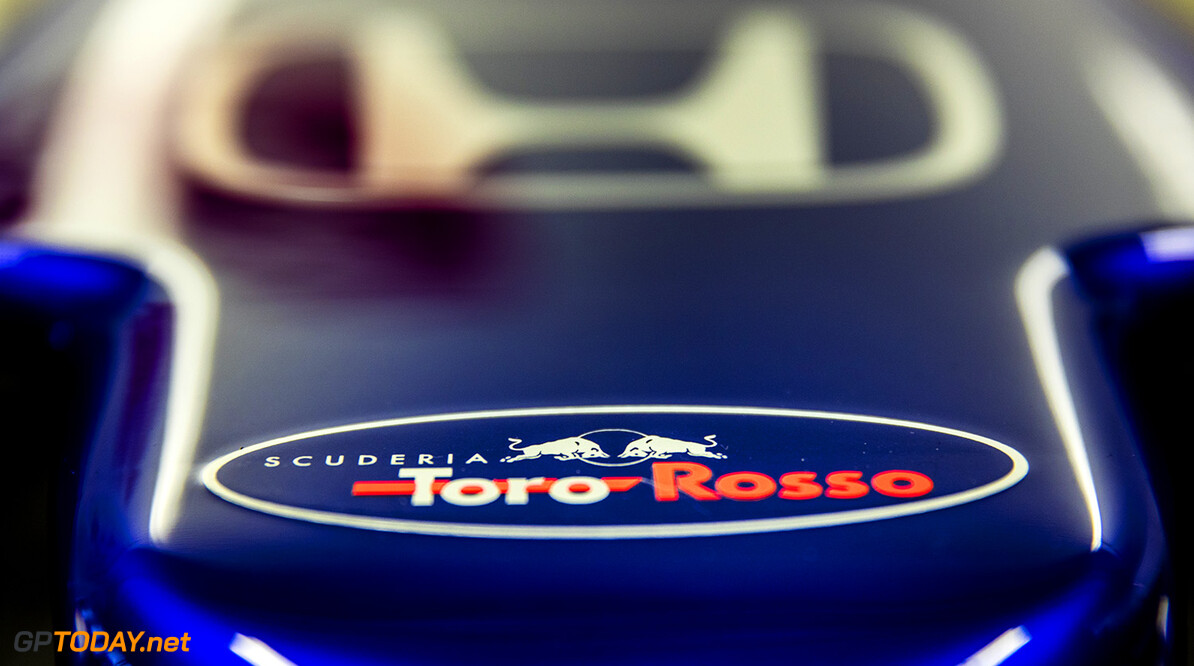 Detail of the new STR13 during the filming day in Misano, Italy on February 21, 2017 // Samo Vidic/Red Bull Content Pool // AP-1UVM783511W11 // Usage for editorial use only // Please go to www.redbullcontentpool.com for further information. //  Detail  Misano Adriatico Italy  AP-1UVM783511W11