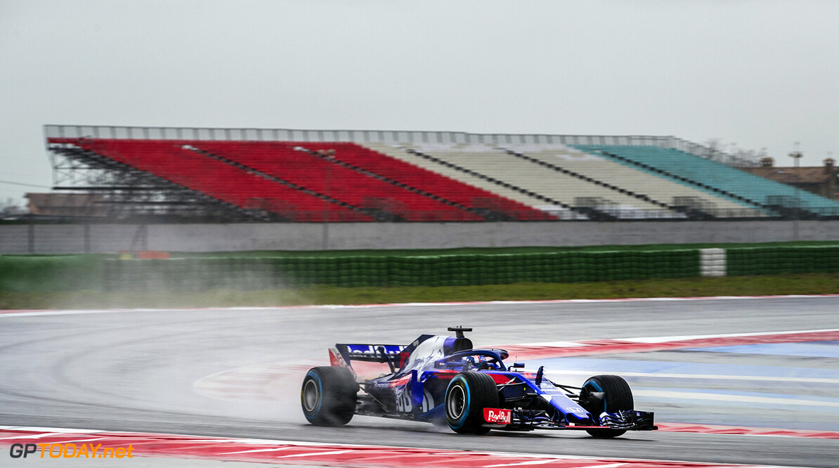 Pierre Gasly of France and Scuderia Toro Rosso performs during the filming day in Misano, Italy on February 21, 2017 // Samo Vidic/Red Bull Content Pool // AP-1UVM73XRS1W11 // Usage for editorial use only // Please go to www.redbullcontentpool.com for further information. //  Pierre Gasly  Misano Adriatico Italy  AP-1UVM73XRS1W11
