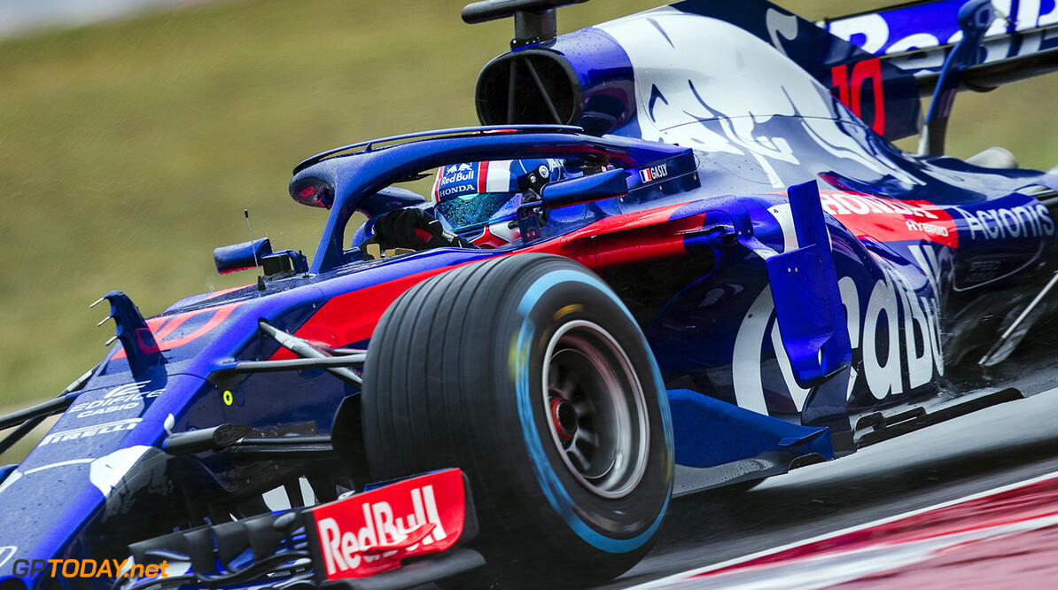 Pierre Gasly of France and Scuderia Toro Rosso performs during the filming day in Misano, Italy on February 21, 2017 // Samo Vidic/Red Bull Content Pool // AP-1UVM73MF91W11 // Usage for editorial use only // Please go to www.redbullcontentpool.com for further information. //  Pierre Gasly  Misano Adriatico Italy  AP-1UVM73MF91W11