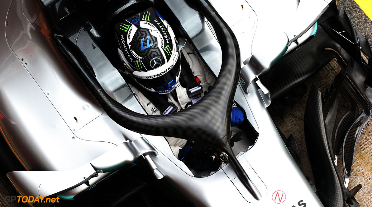 Mercedes-coureurs kunnen weinig zeggen na koude eerste testdag