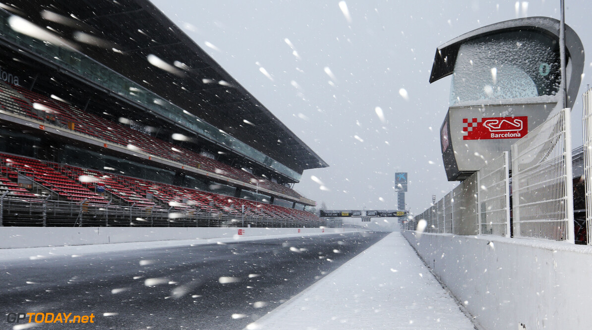 Barcelona Day 3: One timed lap set amid miserable conditions