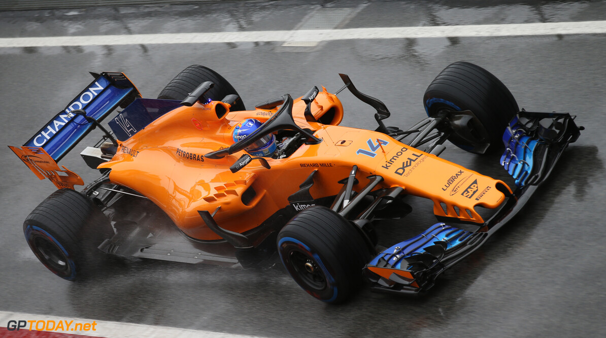 Formula One Testing Fernando Alonso (ESP) McLaren MCL33. 28.02.2018. Formula One Testing, Day Three, Barcelona, Spain. Wednesday. - www.xpbimages.com, EMail: requests@xpbimages.com - copy of publication required for printed pictures. Every used picture is fee-liable. (C) Copyright: Batchelor / XPB Images Motor Racing - Formula One Testing - Test One - Day 3 -  Barcelona, Spain xpb.cc Barcelona Spain  Formel1 Formel Testing Test F1 Formula 1 Formula1 one February Spain Barcelona Catalunya 28 02 2 2018 Wednesday Action Track