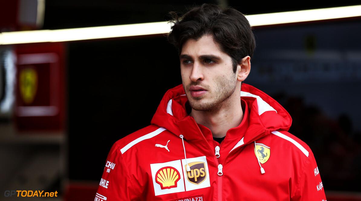 """Giovinazzi: """"Ik ben geen simulatorcoureur, ik wil in de auto zitten"""""""