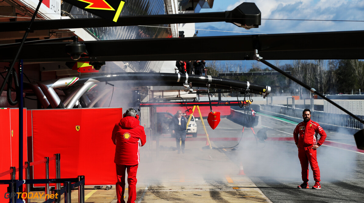 'Rookgordijnen' Ferrari wekken geen argwaan bij FIA
