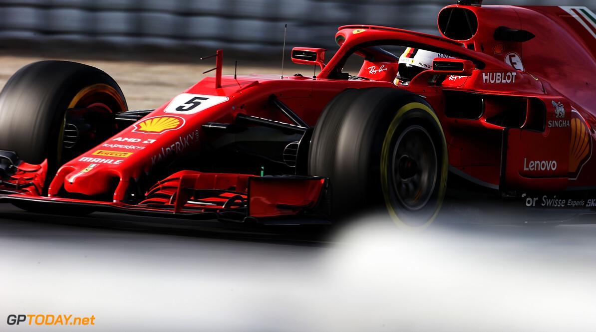 Barcelona dag 3: Ferrari toont spierballen met toptijd
