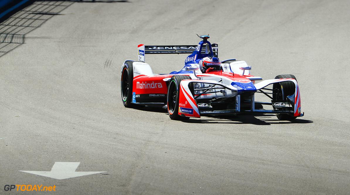 Felix Rosenqvist (SWE), Mahindra Racing, Mahindra M4Electro.  Zak Mauger    Action