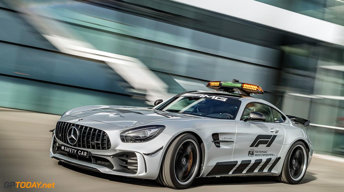18C0211_013 Mercedes-AMG GT R Official F1 Safety Car 2018   Mercedes-AMG GT R Official F1 Safety Car 2018  Mercedes-AMG GT R neues F?hrungsfahrzeug in der Formel 1-Saison 2018: Das st?rkste Official FIA F1 Safety Car aller Zeiten Daimler AG - Global Communicatio