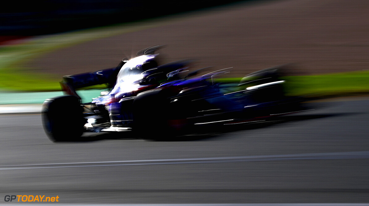 MELBOURNE, AUSTRALIA - MARCH 23: Brendon Hartley of New Zealand driving the (28) Scuderia Toro Rosso STR13 Honda on track during practice for the Australian Formula One Grand Prix at Albert Park on March 23, 2018 in Melbourne, Australia.  (Photo by Mark Thompson/Getty Images) // Getty Images / Red Bull Content Pool  // AP-1V4UUYGED1W11 // Usage for editorial use only // Please go to www.redbullcontentpool.com for further information. //  Australian F1 Grand Prix - Practice Mark Thompson Melbourne Australia  AP-1V4UUYGED1W11