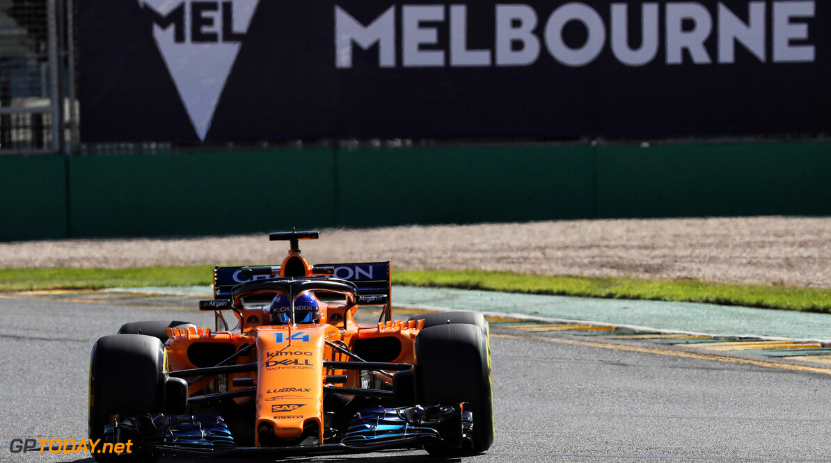 Alonso expresses relief with McLaren's qualifying pace