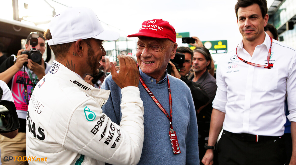 Wolff: Lauda's death leaves a void in Formula 1
