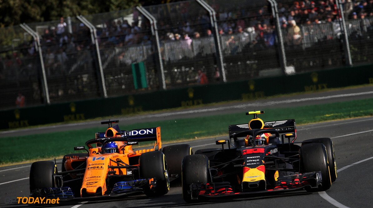 Boullier impressed by Red Bull's pace in Australia