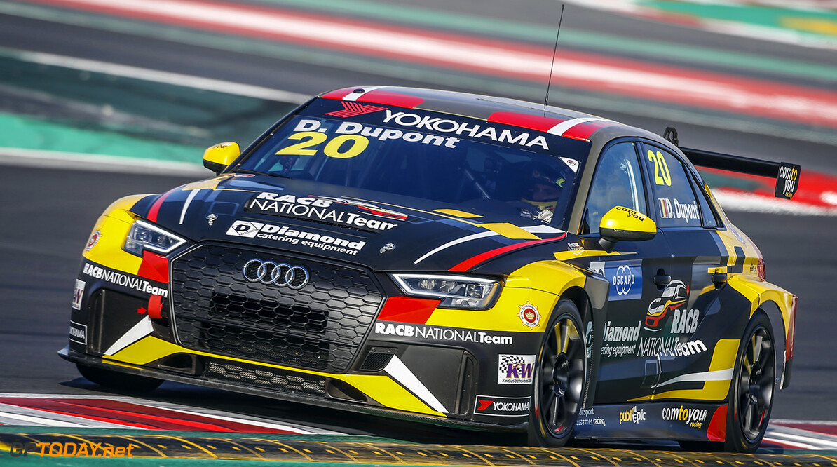 20 DUPONT Denis (BEL), Comtoyou Racing, Audi RS3 LMS, action