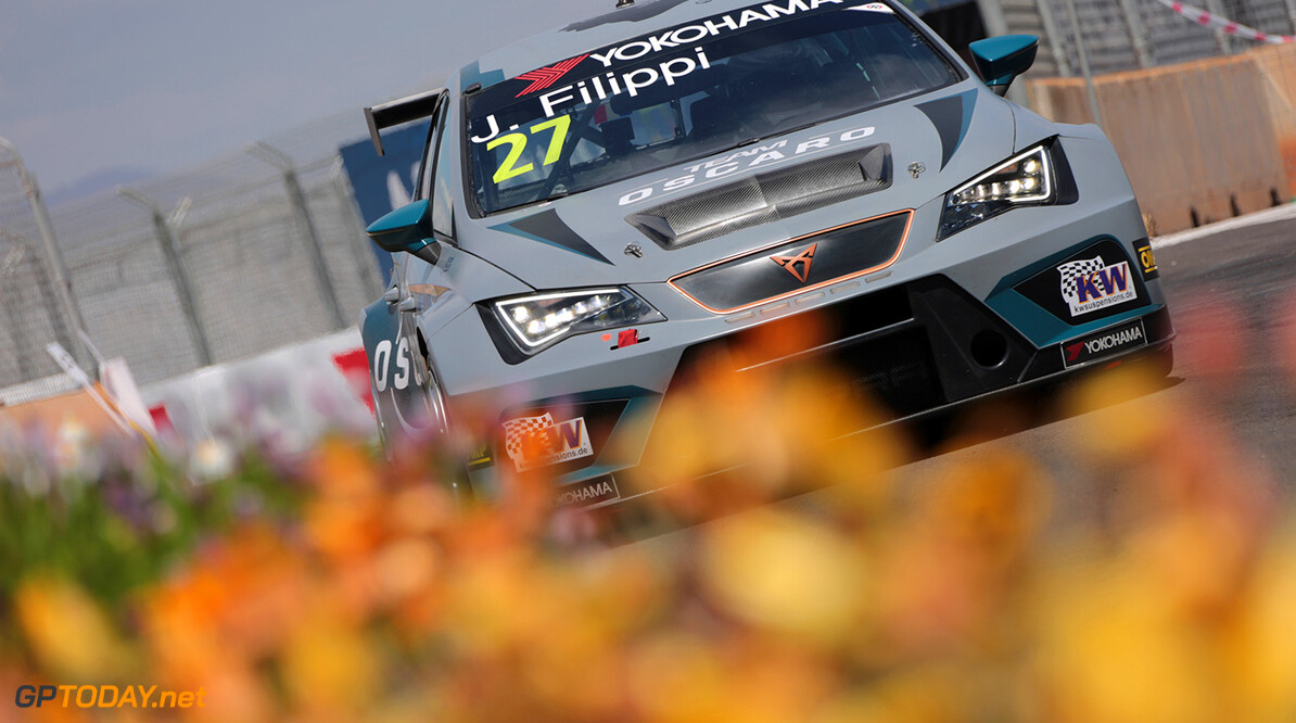 27 FILIPPI John (FRA), Team Oscaro by Campos Racing, Cupra TCR, action during the 2018 FIA WTCR World Touring Car  Cup Race of Morocco at Marrakech, from April 7 to 8th - Photo Paulo Maria / DPPI AUTO - WTCR MARRAKECH 2018 Paulo Maria Marrakech Maroc  april auto avril championnat du monde circuit course fia maroc motorsport tourisme wtcr