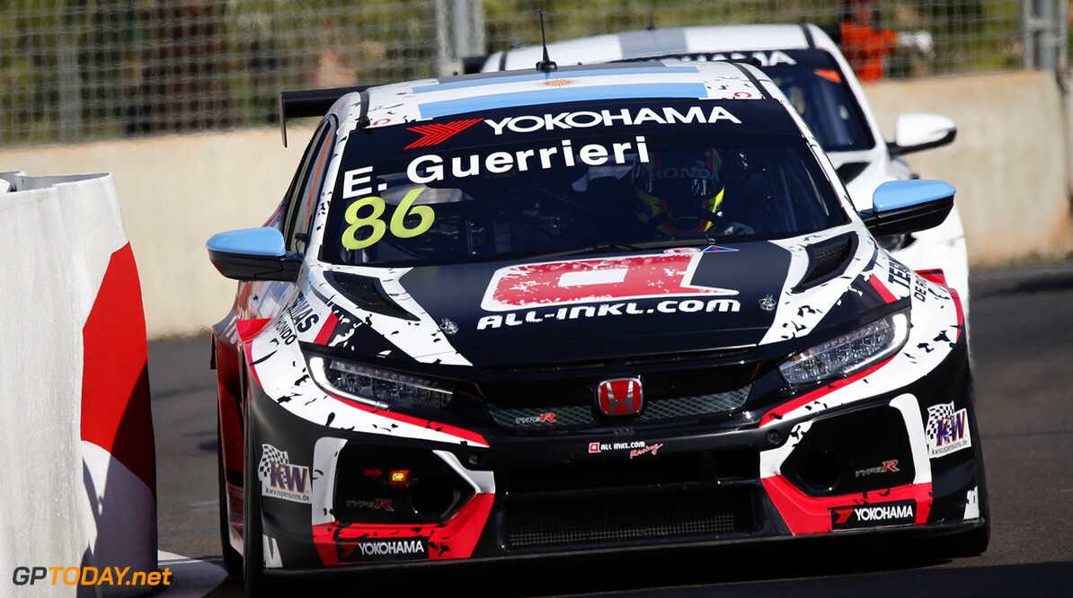 86 GUERRIERI Esteban (ARG), ALL-INKL.COM Munnich Motorsport, Honda Civic TCR, action, during the 2018 FIA WTCR World Touring Car  Cup Race of Morocco at Marrakech, from April 7 to 8th - Photo Paulo Maria / DPPI AUTO - WTCR MARRAKECH 2018 Paulo Maria Marrakech Maroc  april auto avril championnat du monde circuit course fia maroc motorsport tourisme wtcr