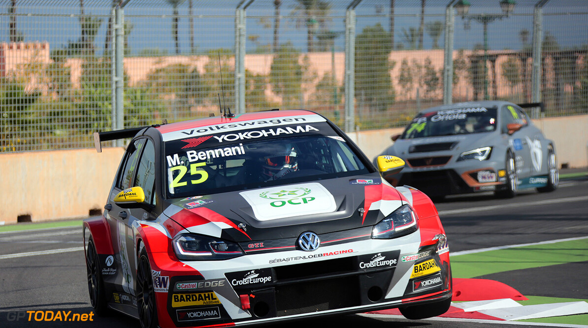 25 BENNANI Mehdi (MAR), Sebastien Loeb Racing, Volkswagen Golf GTI TCR, action during the 2018 FIA WTCR World Touring Car  Cup Race of Morocco at Marrakech, from April 7 to 8th - Photo Paulo Maria / DPPI AUTO - WTCR MARRAKECH 2018 Paulo Maria Marrakech Maroc  april auto avril championnat du monde circuit course fia maroc motorsport tourisme wtcr