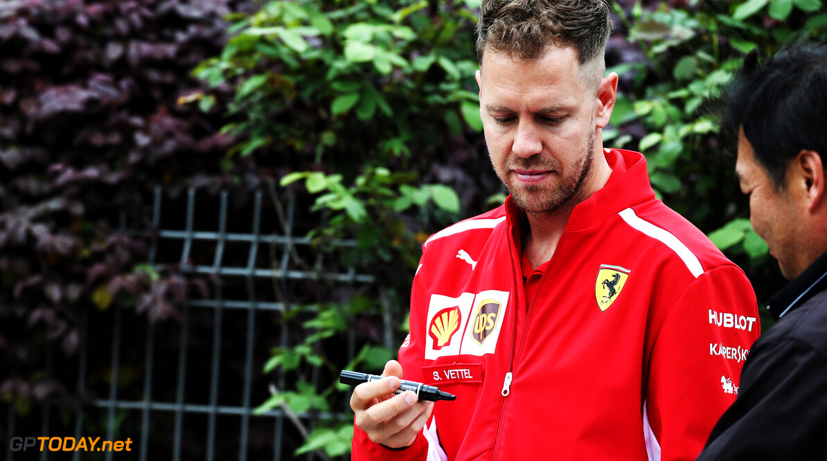 "Vettel says his Ferrari ""didn't click"" on short runs"
