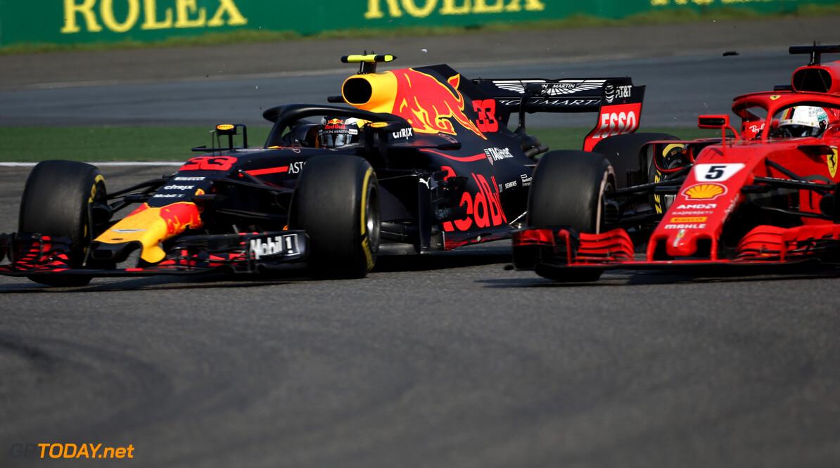 Vettel heeft Verstappen rustiger zien worden