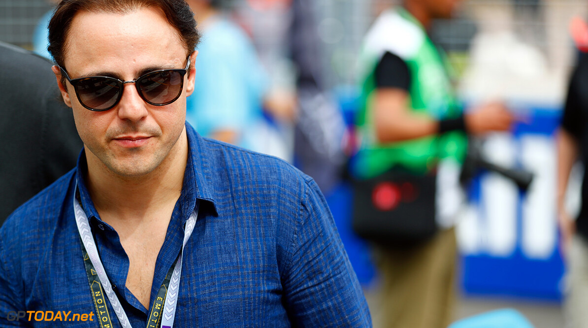 Retired Formula 1 driver, Felipe Massa. World Copyright: Malcom Griffiths /FIA Formula E Ref: _J6I5928 World Copyright: Sam Bloxham/FIA Formula E Ref: _J6I5928  Sam Bloxham