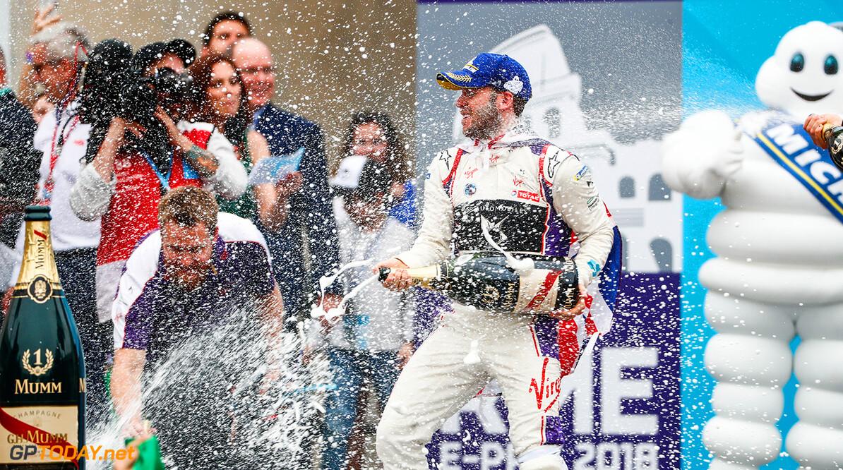 Sam Bird (GBR), DS Virgin Racing, DS Virgin DSV-03, ,wins the Rome ePrix. World Copyright: Malcom Griffiths /FIA Formula E Ref: _W6I6461 World Copyright: Sam Bloxham/FIA Formula E Ref: _W6I6461  Sam Bloxham