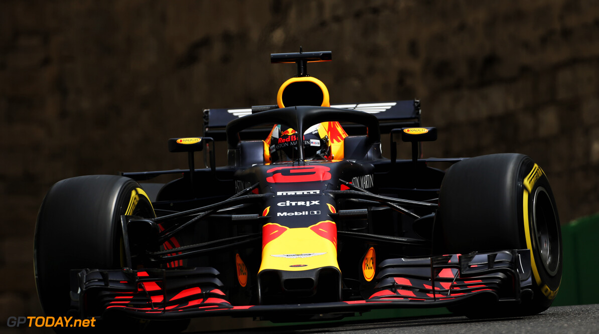 Ricciardo on top after FP2