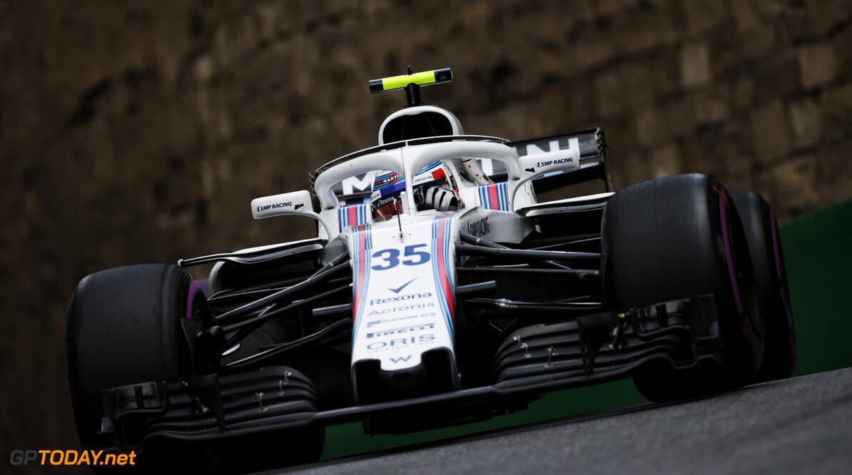 Twee incidenten en gridstraf voor Sirotkin na korte race in Bakoe