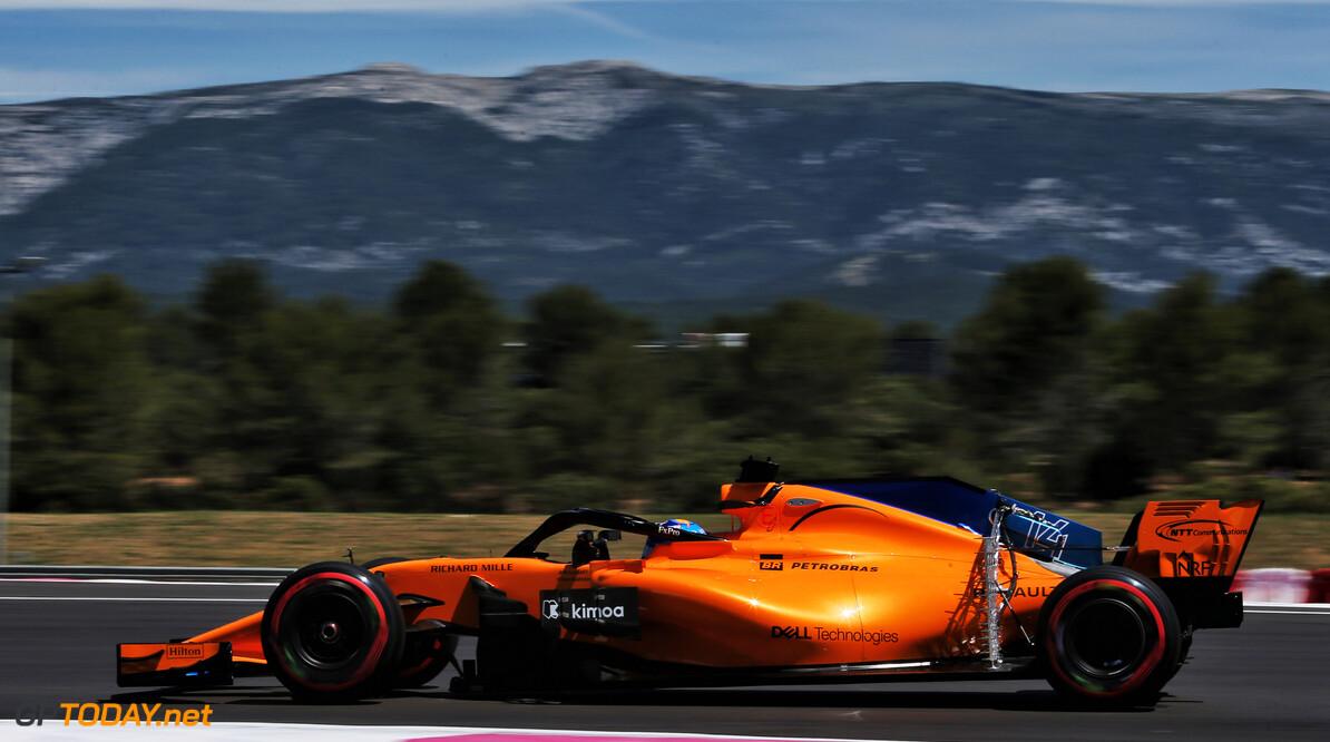 Fernando Alonso op scherp na motorwissel