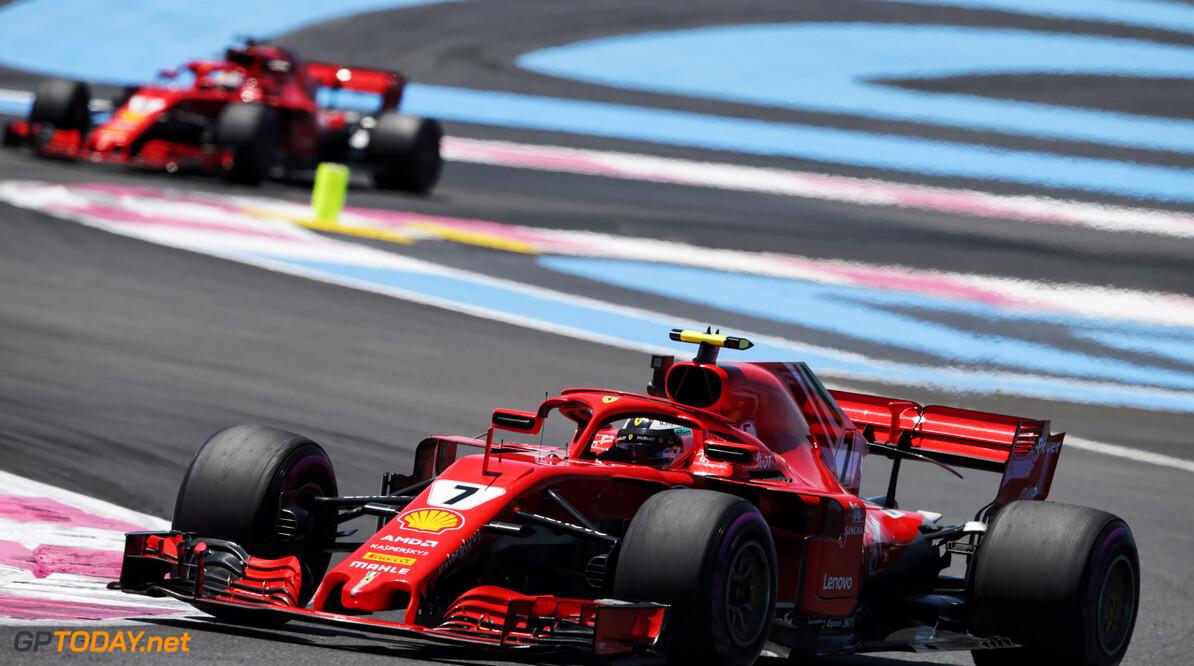 """Kimi Raikkonen: """"Al met al een verdiend podium"""""""