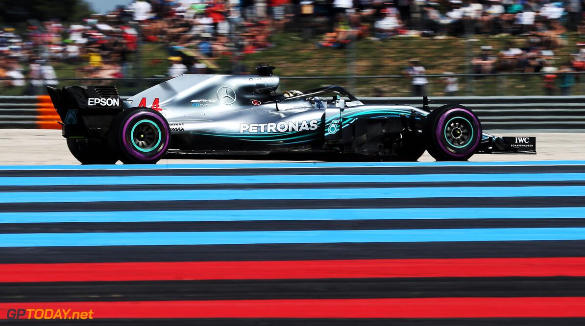 Race: Hamilton domineert op Paul Ricard, Verstappen snaarstrak naar P2