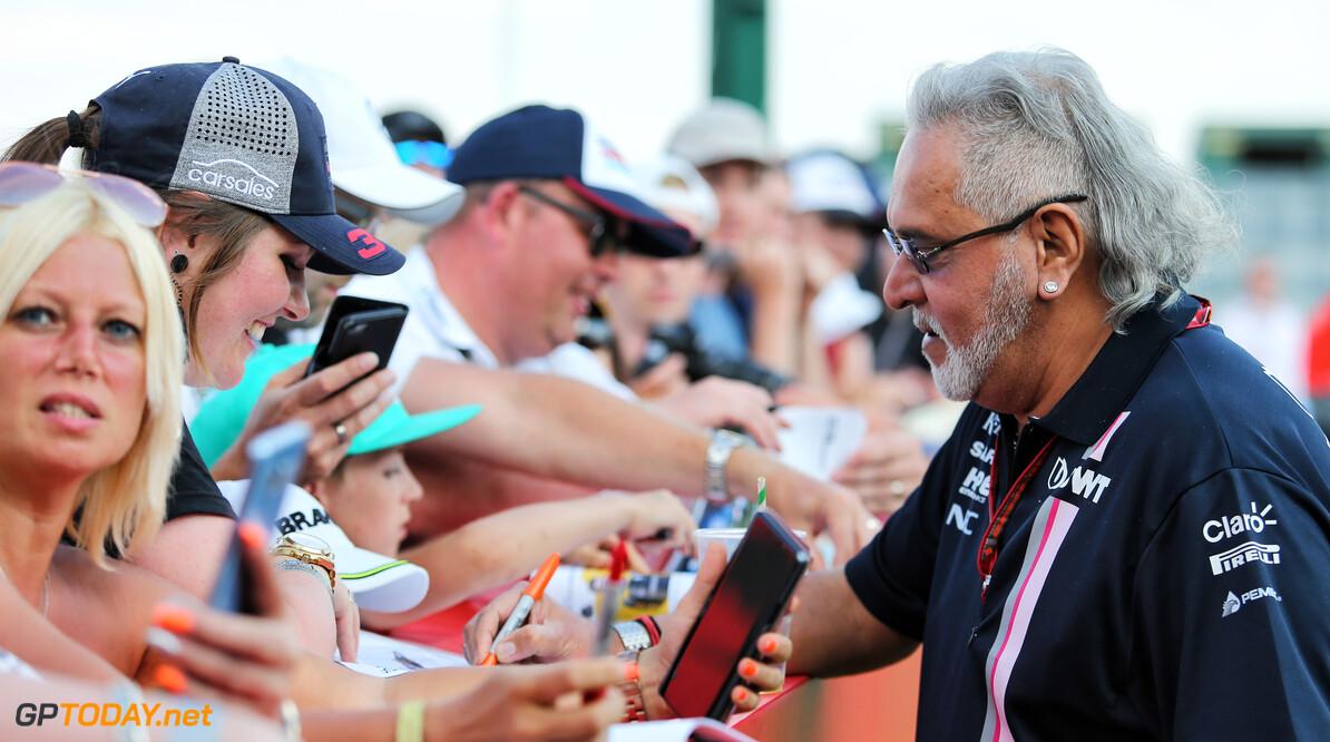 Mallya blij voor Racing Point na sluiten van deal met Aston Martin