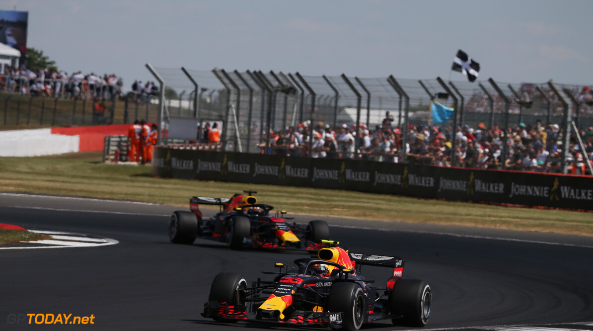 Formula One World Championship Max Verstappen (NLD) Red Bull Racing RB14.