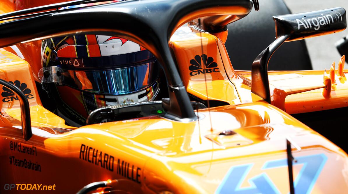 McLaren confirm Norris will take part in Sochi practice