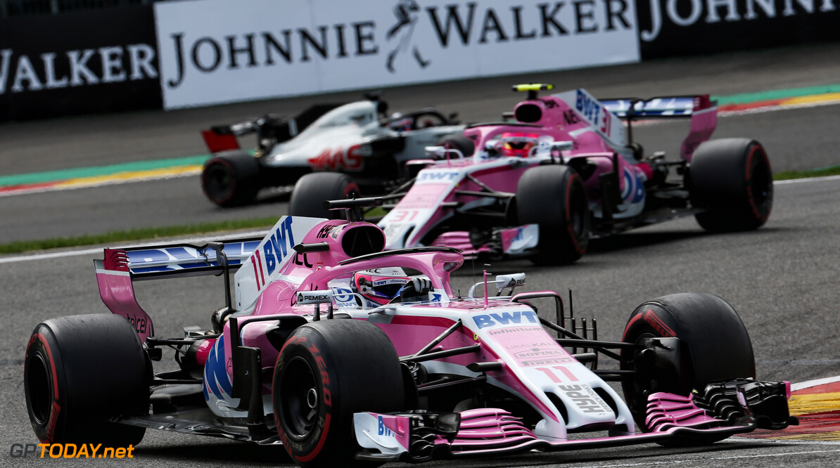 Haas lodge protest against Force India cars