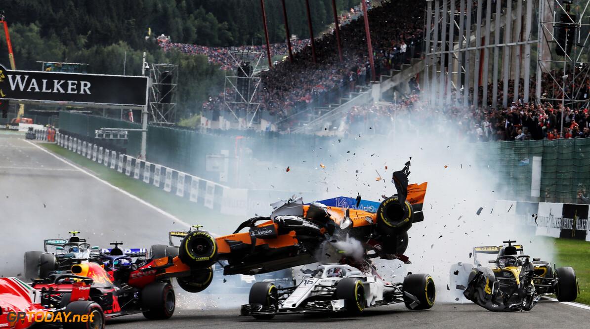Alonso still feeling pain from Spa crash