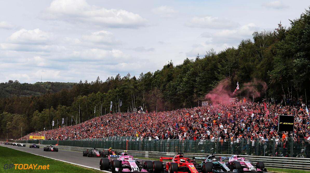FOM meldt groei van toeschouwers bij Formule 1-races in 2018