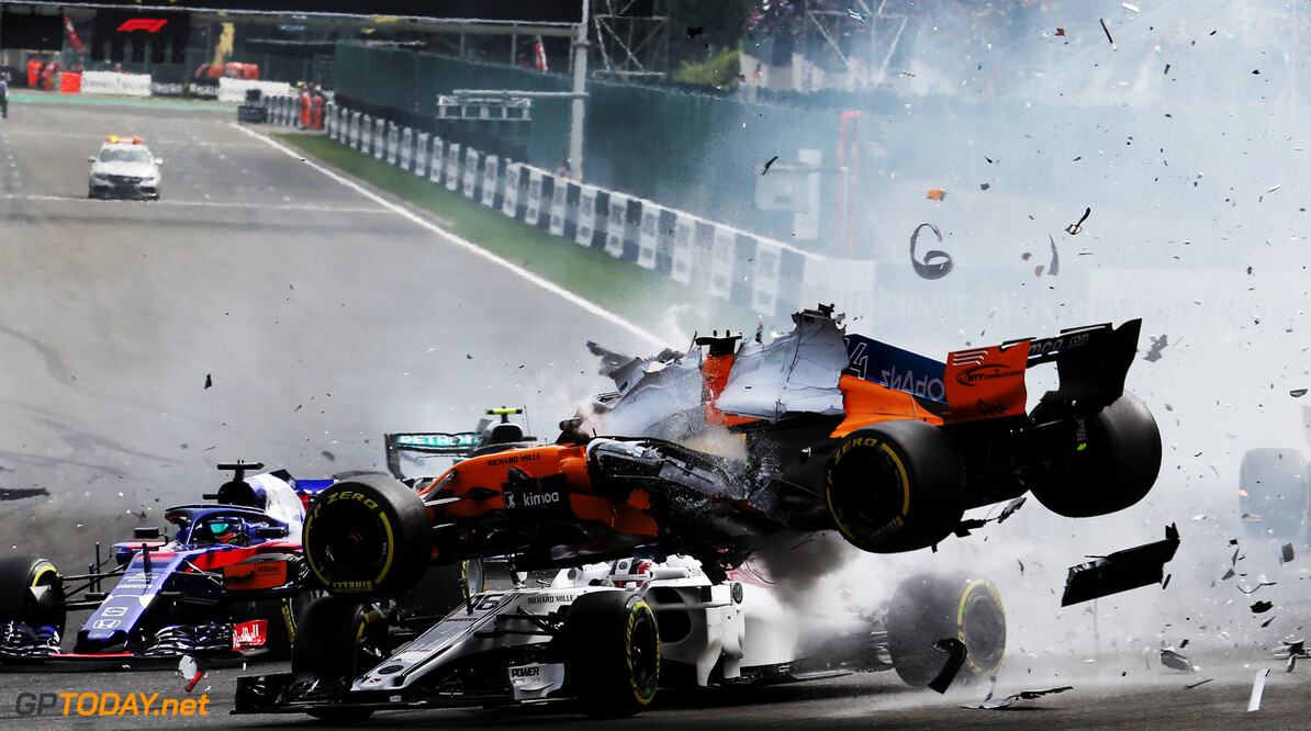 Alonso to use a new chassis after Spa crash
